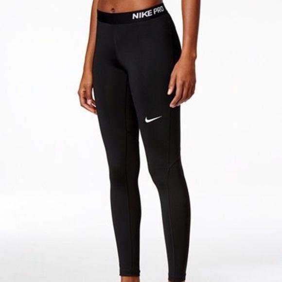 d326a018b300d Nike Pants | Pro Warm Drifit Fleece Lined Leggings | Poshmark